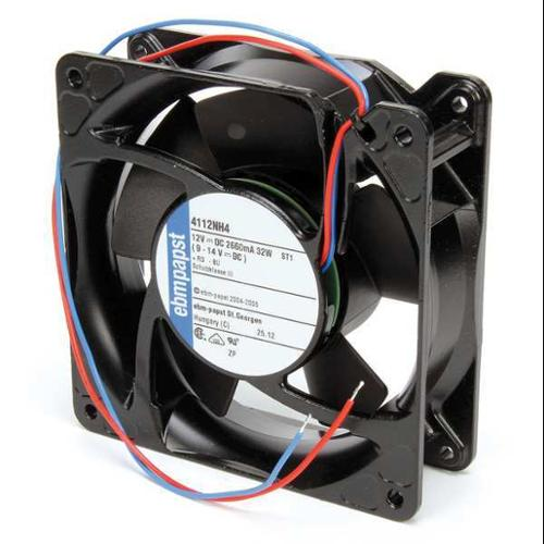 "EBM-PAPST 4-11/16"" Square Axial Fan, 12VDC, 4112NH4"