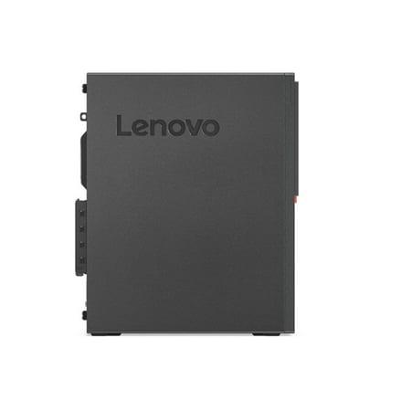 Lenovo ThinkCentre M725s SFF Home and Business Desktop Black (AMD Ryzen 7 PRO 2700 8-Core, 8GB RAM, 1TB PCIe SSD, NVIDIA GT 730, 6xUSB 3.1, 2xDP Port, Optical Drive, Win 10 Pro) - image 2 de 5