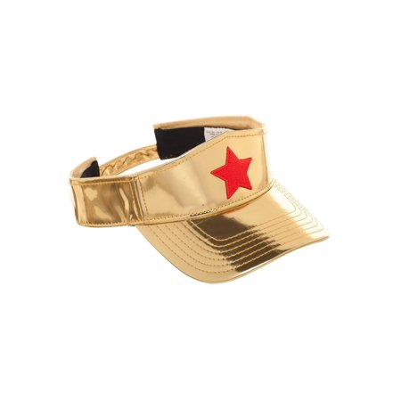 Wonder Woman Women's Golden Visor - Wonder Woman Hat