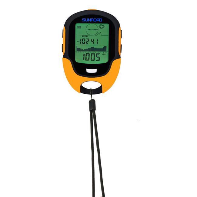 Military Digital Altimeter Barometer Watch Thermometer, Orange by SuperJock