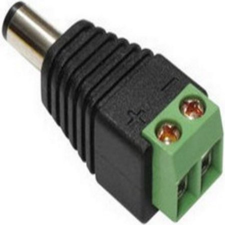 Sel Ca161t Male Dc Plug With Terminal Block C