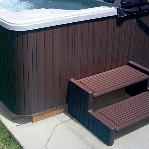 SPAKIT SQ ACE Recycled Plastic Weathered Acorn Spa Outdoor ...