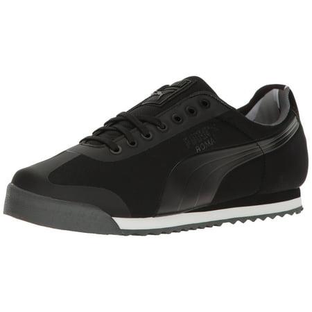 PUMA - PUMA 362406-03   Men s Roma Basic Geometric Camo Sneaker Black (8.5  D(M) US eb651888d