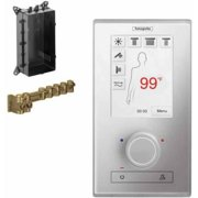Hansgrohe K15841-15840WC Rainbrain Thermostatic Electronic Shower Trim Set with Rough-In, Various Colors