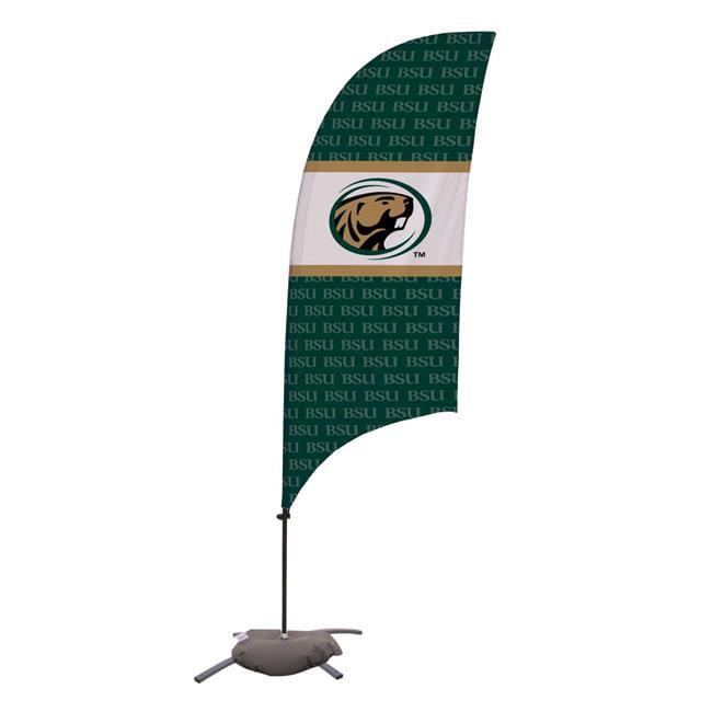 Victory Corps 810029BEM-002 7.5 ft. Bemidji State Beavers Razor Feather NCAA Flag with Cross Base - No.002 - image 1 de 1