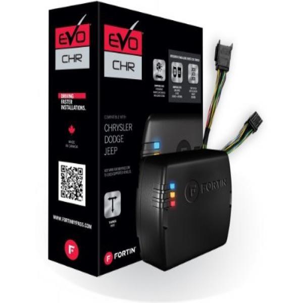 Fortin - EVO-CHRT4 - Stand-Alone Add-On Remote Start Car Starter System For Chrysler Dodge Jeep Fobik Key Vehicles