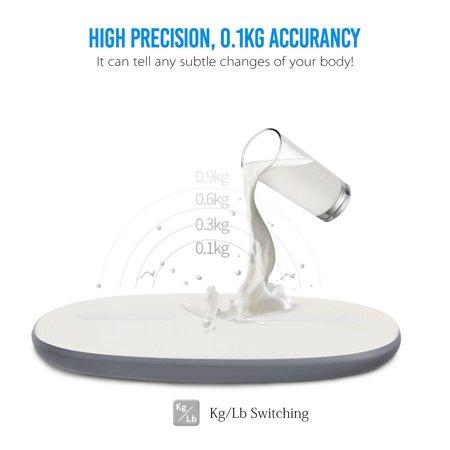 Digoo  Body Fat Weight Bathroom Scale LED Digital Smart h Phone APP Auto-sync Health Gym Analyse  - image 5 of 11