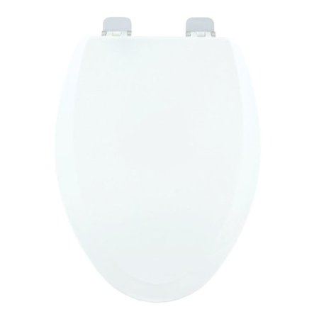 Centoco 900CH 001 Wood Elongated Toilet Seat White