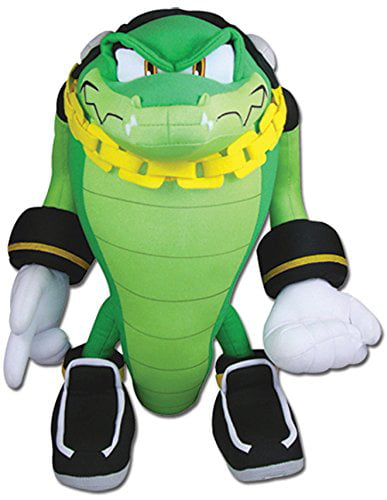 Great Eastern Sonic The Hedgehog Vector The Crocodile Plush Walmart Com Walmart Com