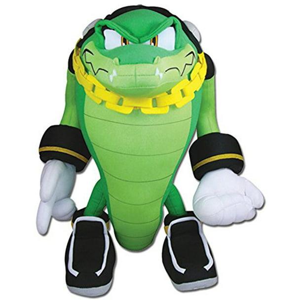 Great Eastern Sonic The Hedgehog Vector The Crocodile Plush Walmart Com Walmart Com