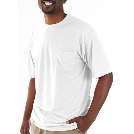 85722ccc Gildan - Big and Tall Men's Classic Short Sleeve T-Shirt with Pocket -  Walmart.com