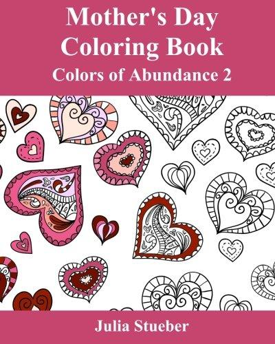 Mother's Day Adult Coloring Book