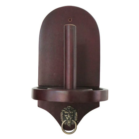 Hathaway Premier Wall-Mounted Cone Chalk Holder (Viper Traditional Mahogany 8 Cue Wall Cue Rack)