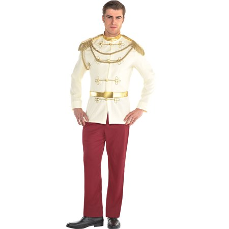 Prince Charming Halloween Costume for Men, Cinderella, Standard](Cinderella And Prince Charming Costumes)