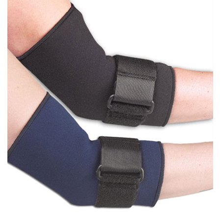 Fla 19-601MDBLK Safe-T-Sport Compressive Elbow Sleeve, Black, Medium, Sports neoprene sleeve coverage provides therapeutic warmth around the.., By FLA Orthopedics From USA (Provides Medium Coverage)