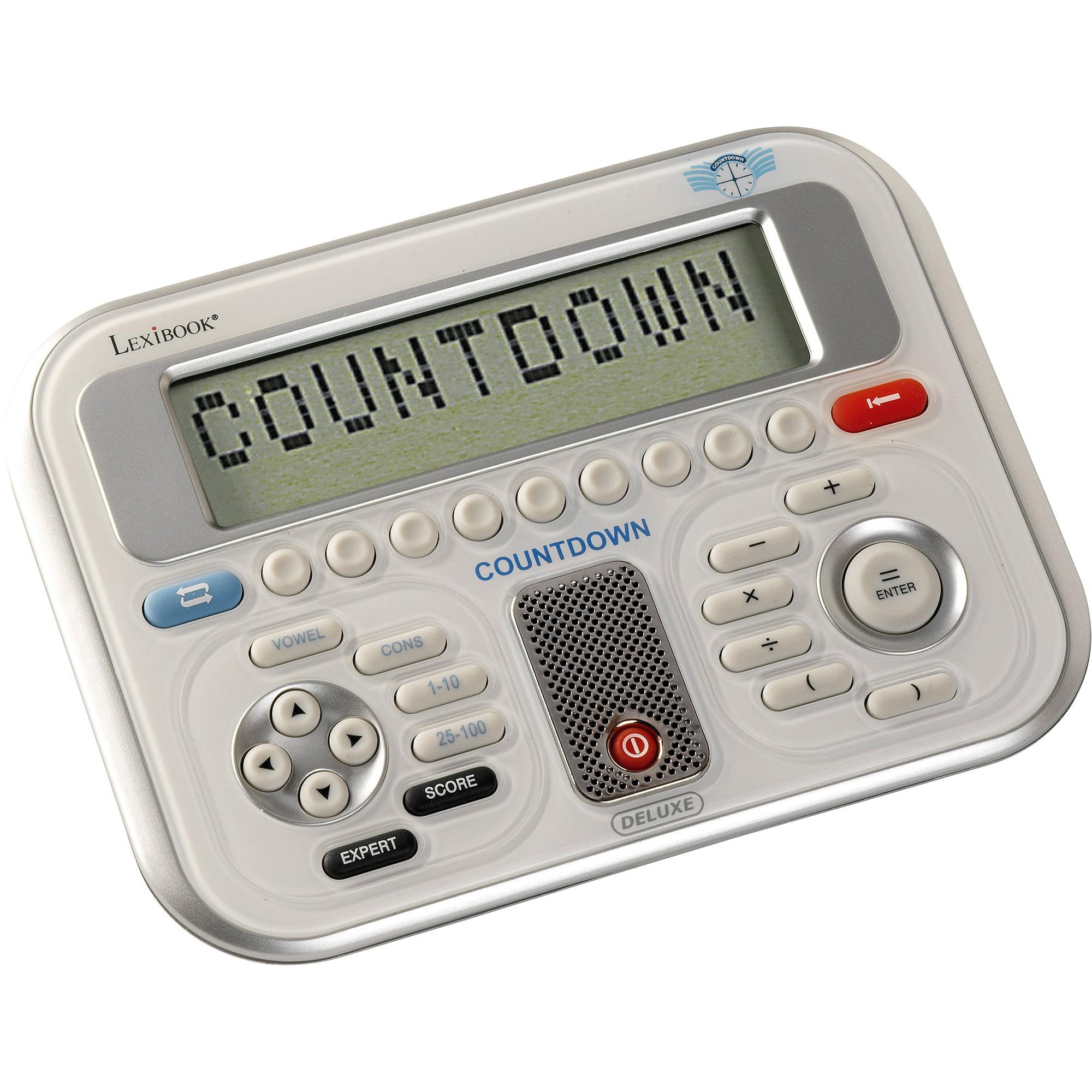 Lexibook Electronic Countdown Deluxe Game