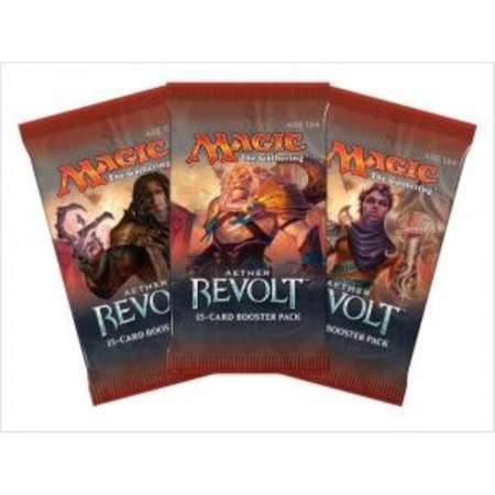 3 Three Packs - Magic: the Gathering - MTG: Aether Revolt Booster (Best Cards In Aether Revolt)