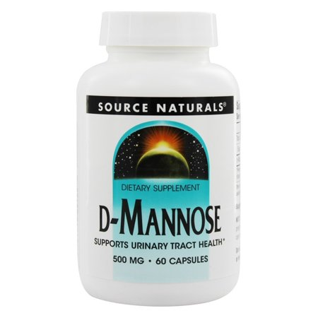 Source Naturals - D Mannose 500 mg. - 60 Capsules