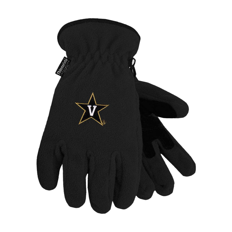 Vanderbilt University Heavy-Weight Fleece Gloves by