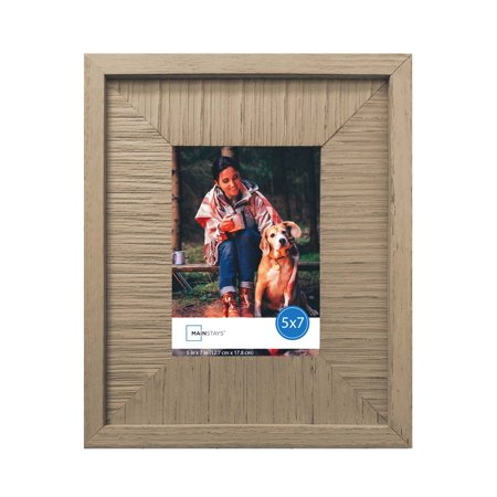Mainstays Wooden Picture Frame Walmart Com