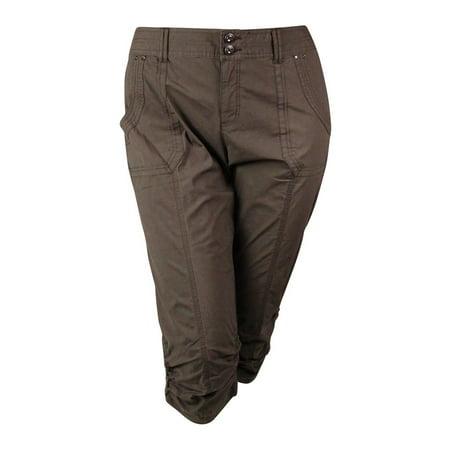 68180493c124b INC International Concepts - INC International Concepts Women s Ruched  Cargo Pants - Walmart.com