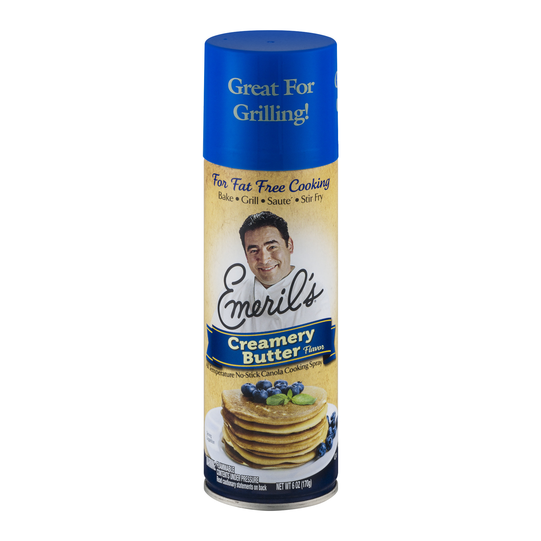 Emeril's® Creamery Butter Flavor Cooking Spray 6 oz. Aerosol Can