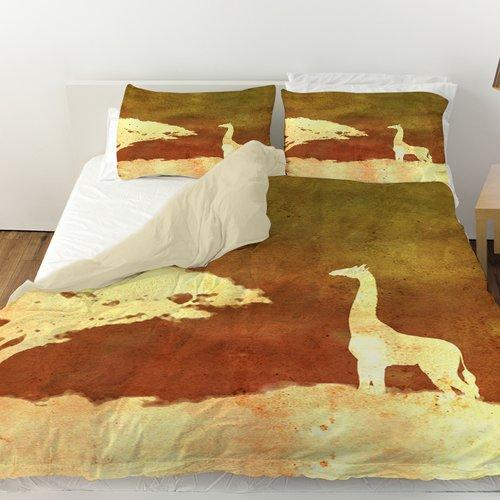 Manual Woodworkers & Weavers Safari Sunrise 4 Duvet Cover