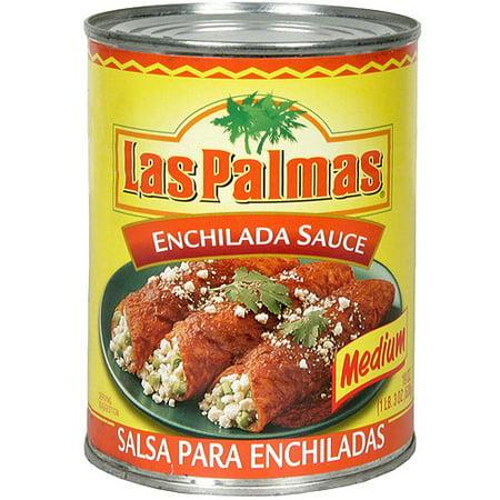 Las Palmas Medium Enchilada Sauce, 19 oz (Pack of