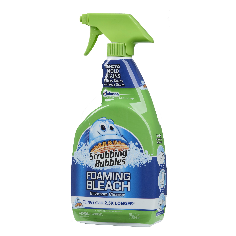 Scrubbing Bubbles Foaming Bleach Bathroom Cleaner 32 Fluid Ounces. Bathroom Cleaning Supplies