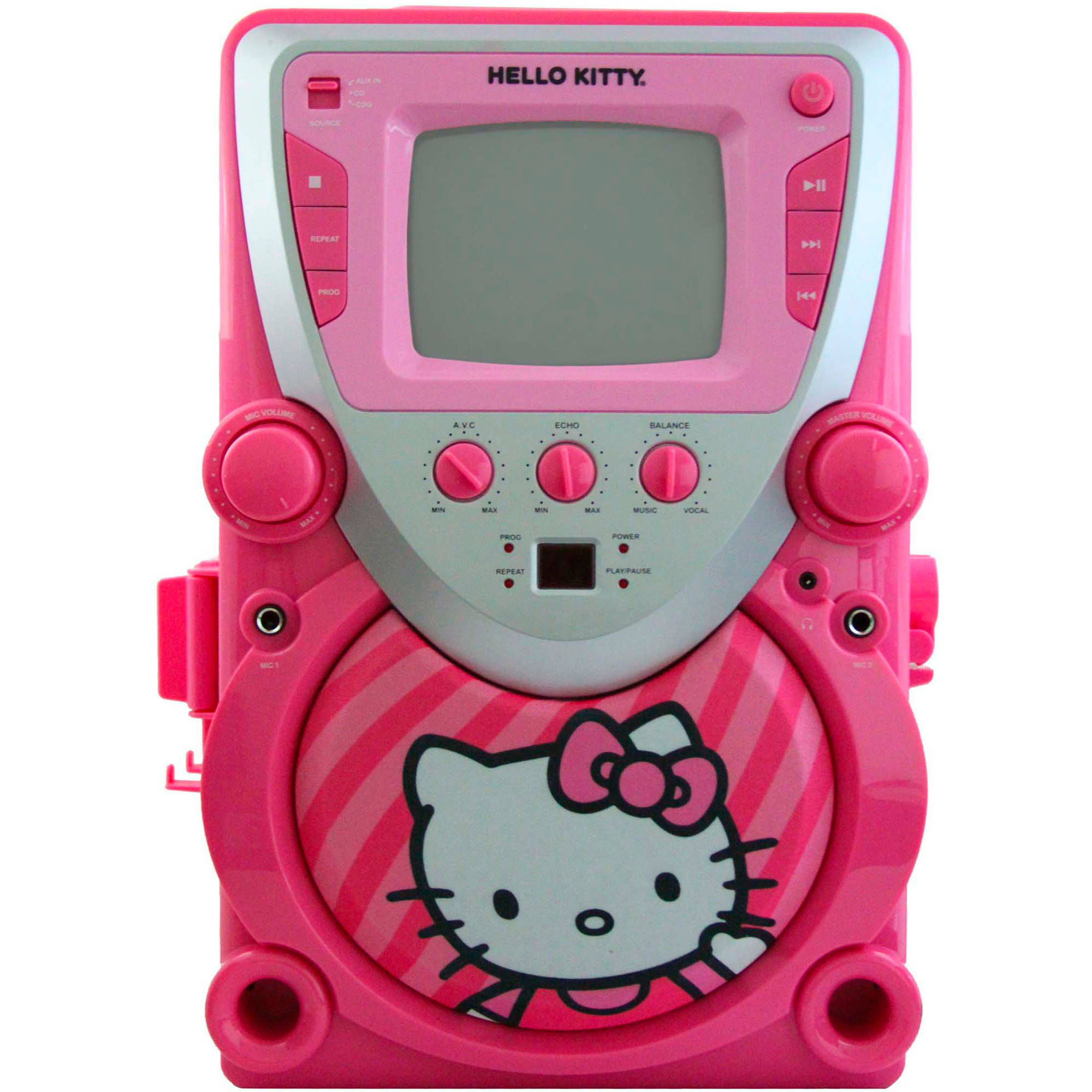Hello Kitty Super CD+G Karaoke with Screen