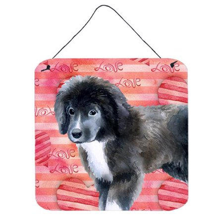 Carolines Treasures BB9786DS66 Newfoundland Puppy Love Wall or Door Hanging Prints - image 1 of 1