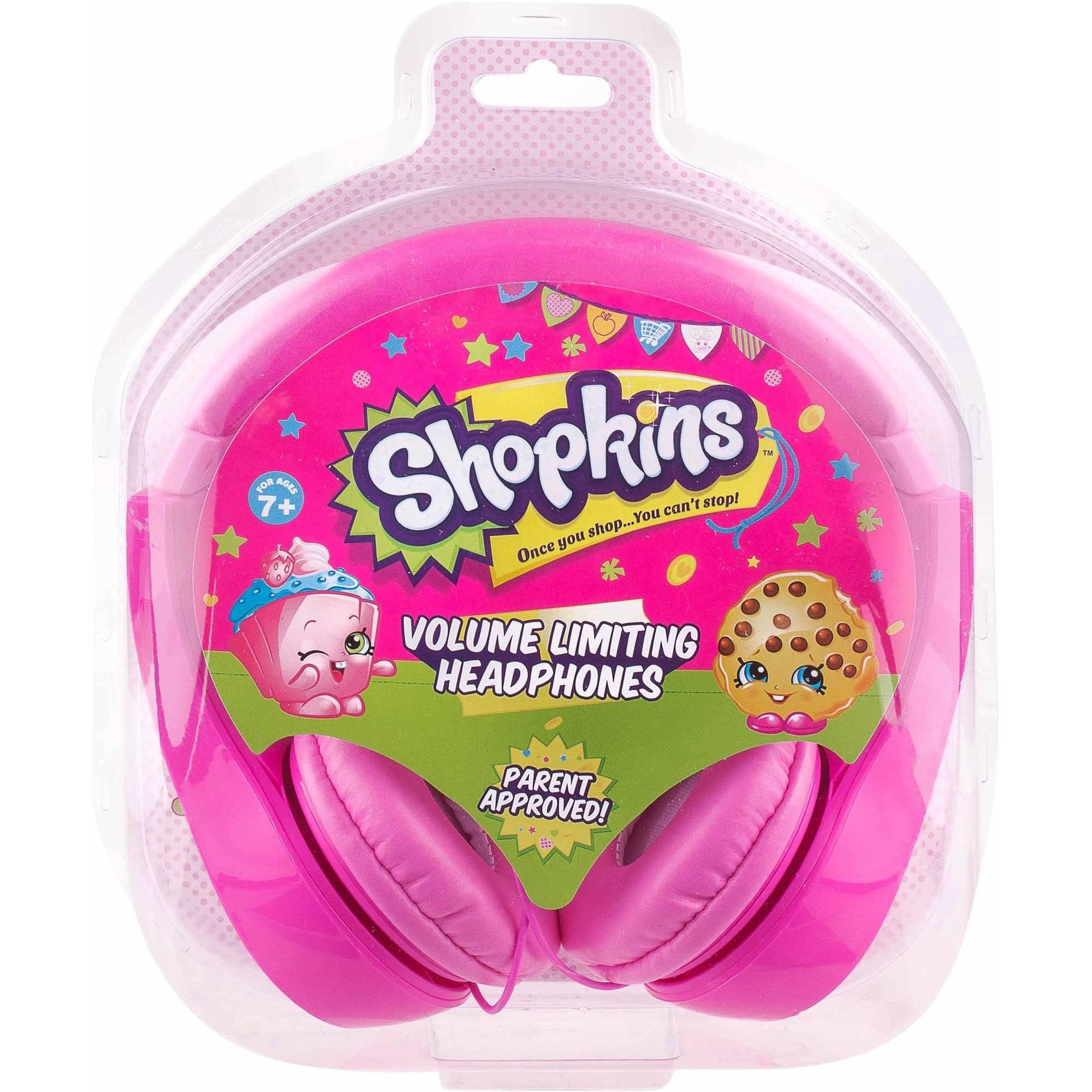 Shopkins Kids-Friendly Headphones