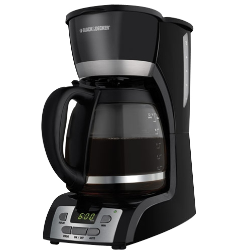 BLACK+DECKER 12-Cup Programmable Coffee Maker, DCM2160B