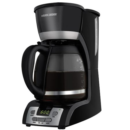 BLACK+DECKER 12-Cup Programmable Coffee Maker, DCM2160B