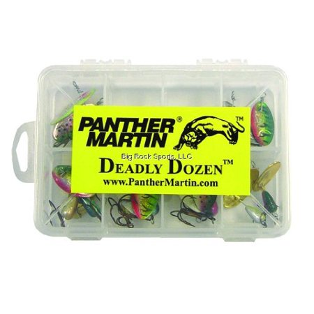 Panther Martin Best of the Best Kit.Deadly Dozen 12 Trout Spinner (Best Trout Bait For Stocked Trout)