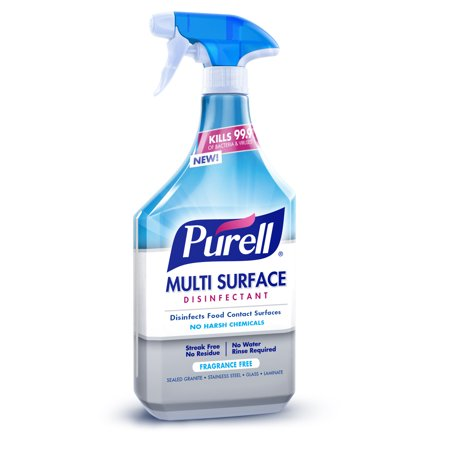 Purell Multi Surface Disinfectant Spray, Fragrance Free, 28 Fl Oz