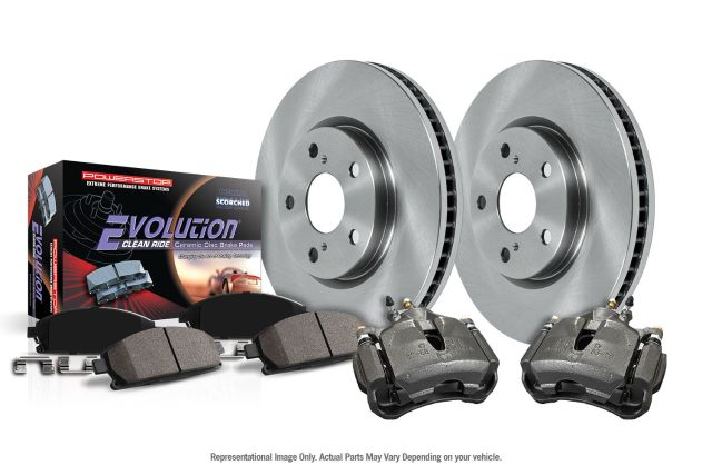 2002 2003 2004 For Buick Rendezvous Front Disc Brake Rotors and Ceramic Pads