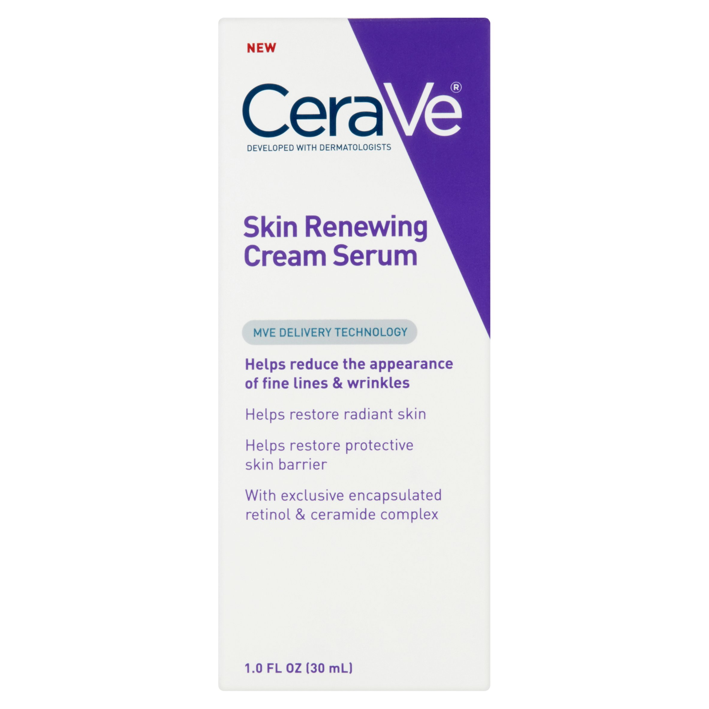 CeraVe Skin ReNewing Cream Serum, 1 fl oz by Valeant Consumer Products