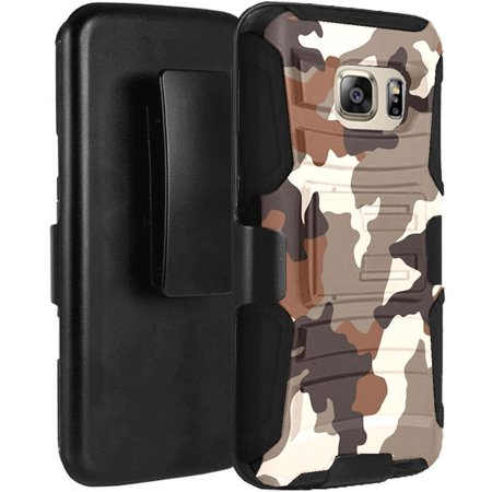101657290d9 Galaxy S7 ACTIVE (NOT For Regular S7 S7 Edge) Case Holster Combo - Armatus  Gear Rugged Tactical Hybrid Armor Case with Holster Belt Clip for Samsung  Galaxy ...