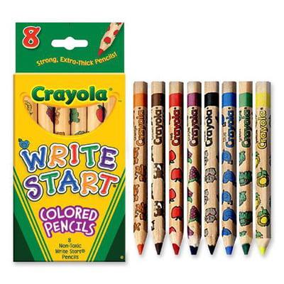 Crayola Write Start Colored Pencil CYO684108