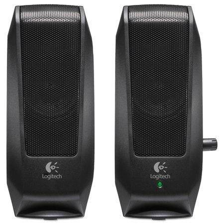 Logitech S120 2 0 Multimedia Speakers  Black