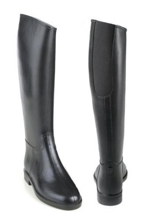 EquiStar Cadet Ladies Flex II Rubber Boots - Ladies Cadet - Size:38 Color:Black a037f2