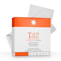 ($29 Value) Tan Towel Total Body Self-Tan Towelette, 5 Ct