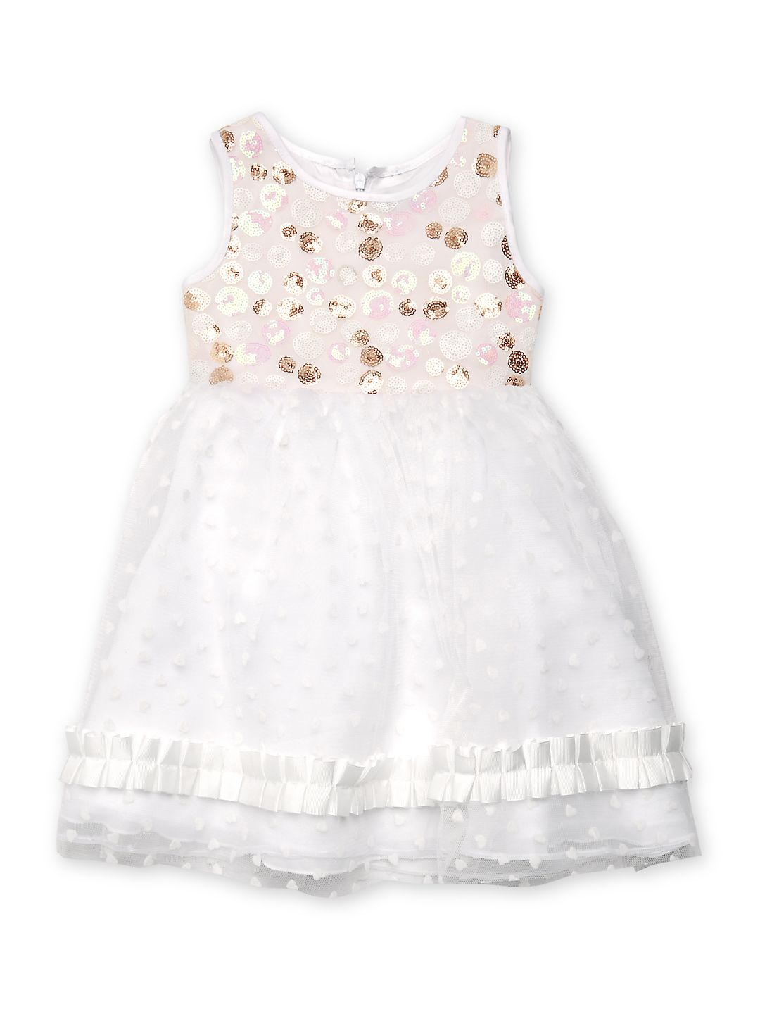 Little Girl's Jenny Organza Sequined Dress