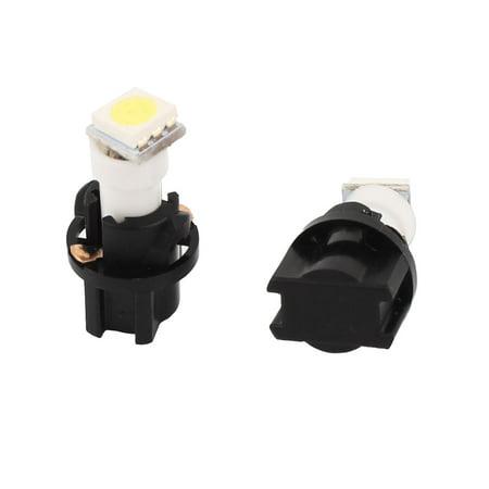 Car T5 5050 1-LED Panel Instrument Lights Side Lamps White 2 Pcs Internal - image 1 of 1