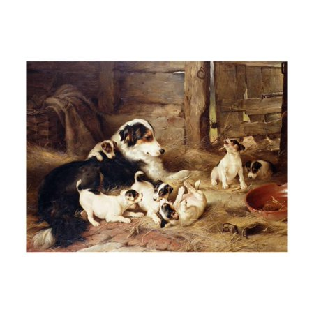 The Foster Mother Print Wall Art By Walter - Walter Foster Art