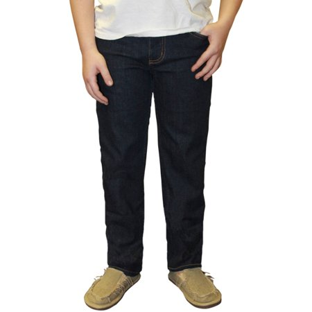 Faded Glory Boy's Skinny Dark Wash Denim