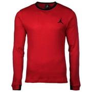 Jordan Men's Nike All Day Thermal 2.0 Crew Shirt-Gym Red