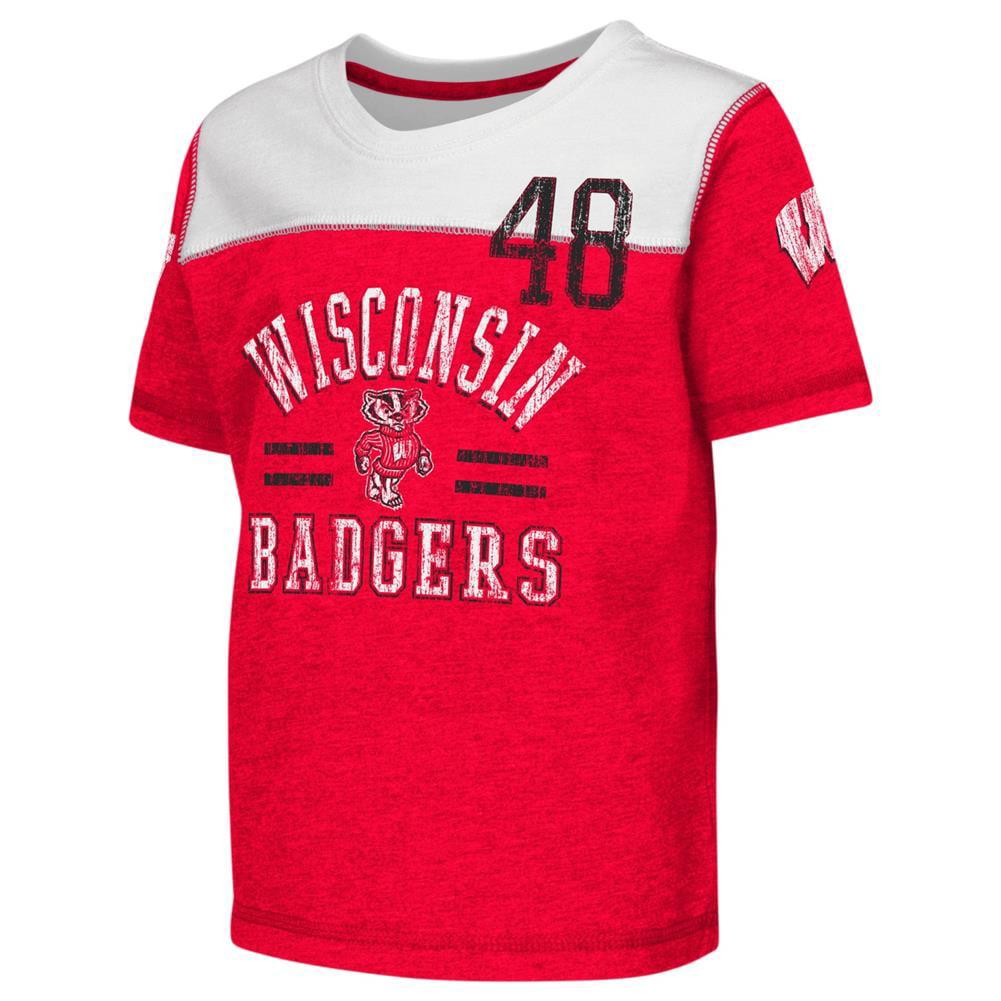 University of Wisconsin Badgers Toddler T-Shirt Short Sleeve Boy's Tee