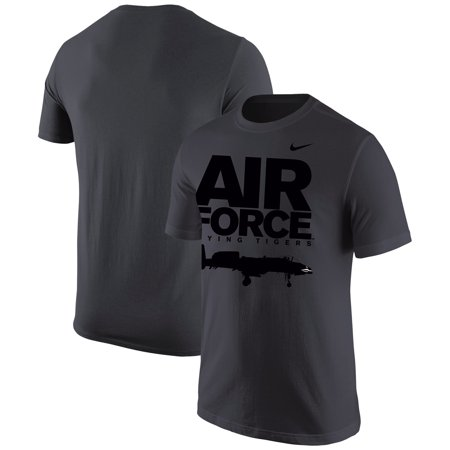 Air Force Falcons Nike Military Branch Specific T-Shirt - Anthracite